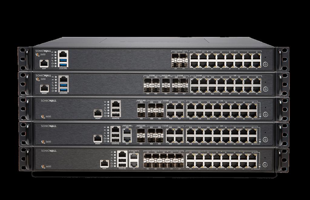 SonicWall NSa 2650-6650 Firewall Support