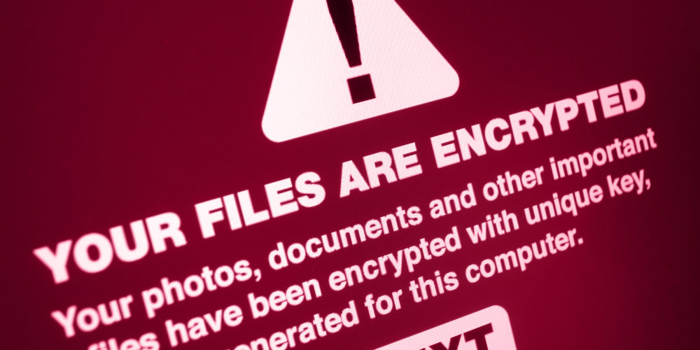 Ransomware - Your Files Are Encrypted on the Screen